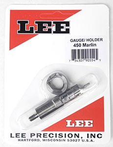 Lee Case Length Gage and Shellholder 450 Marlin