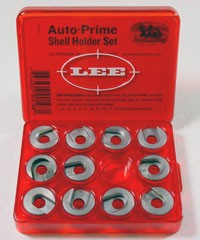 Lee Auto Prime Hand Priming Tool Shellholder Package of 11