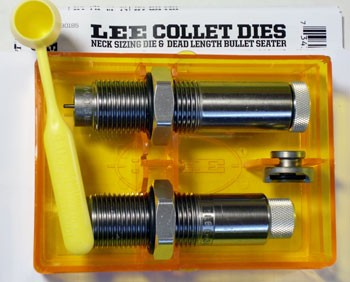 Lee Collet 2-Die Neck Sizer Set 300 Winchester Short Magnum (WSM)