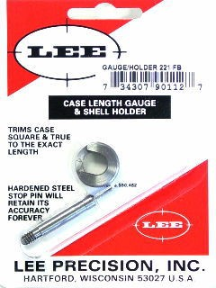 Lee Case Length Gage and Shellholder 221 Remington Fireball