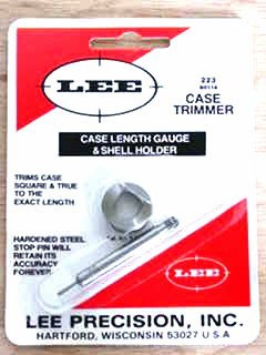Lee Case Length Gage and Shellholder 223 Remington