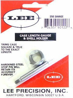 Lee Case Length Gage and Shellholder 250 Savage