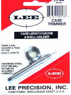 Lee Case Length Gage and Shellholder 270 Winchester
