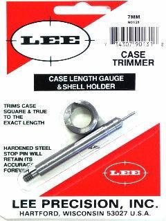 Lee Case Length Gage and Shellholder 7mm Remington Magnum