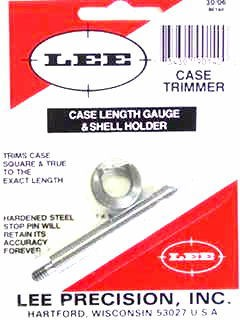 Lee Case Length Gage and Shellholder 30-06 Springfield
