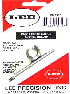 Lee Case Length Gage and Shellholder 300 Weatherby Magnum