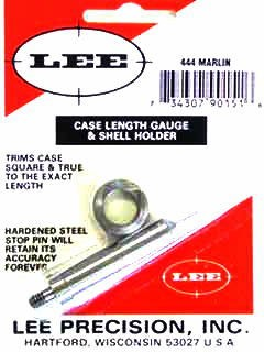 Lee Case Length Gage and Shellholder 444 Marlin