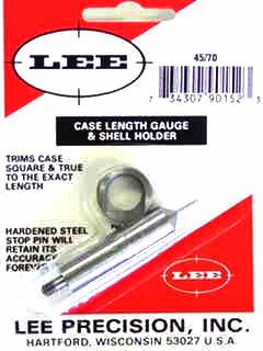 Lee Case Length Gage and Shellholder 45-70 Government