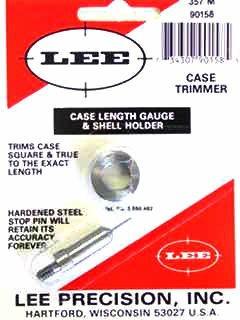 Lee Case Length Gage and Shellholder 357 Magnum