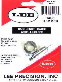 Lee Case Length Gage and Shellholder 44 Remington Magnum