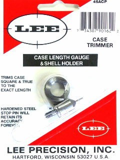 Lee Case Length Gage and Shellholder 45 ACP