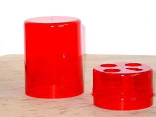 Lee 3-Die Storage Box Red