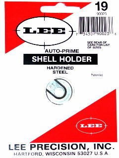Lee Auto Prime Hand Priming Tool Shellholder #19 (9mm Luger, 40 S&W, 10mm Auto)