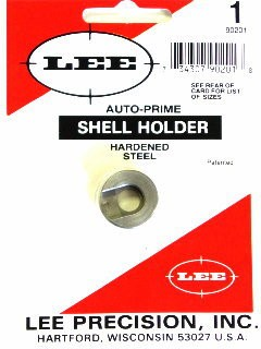 Lee Auto Prime Hand Priming Tool Shellholder #1 (38 S&W, 38 Special, 357 Magnum)