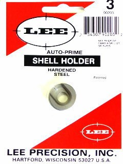 Lee Auto Prime Hand Priming Tool Shellholder #3 (219 Zipper, 30-30 Winchester, 32 Winchester Special)