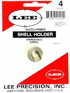 Lee Auto Prime Hand Priming Tool Shellholder #4 (17 Remington, 204 Ruger, 223 Remington)