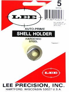 Lee Auto Prime Hand Priming Tool Shellholder #5 (7mm Remington Magnum, 300 Winchester Magnum, 338 Winchester Magnum)