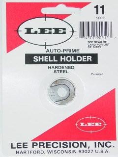 Lee Auto Prime Hand Priming Tool Shellholder #11 (444 Marlin, 44 Special, 45 Long Colt)