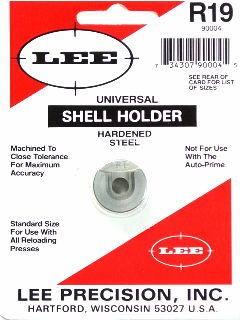Lee Universal Shellholder #19 (9mm Luger, 40 S&W, 10mm Auto)