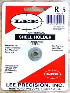Lee Universal Shellholder #5 (7mm Remington Magnum, 300 Winchester Magnum, 338 Winchester Magnum)