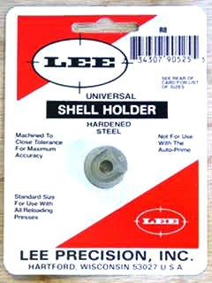 Lee Universal Shellholder #8 (348 Winchester, 416 Rigby, 45-70 Government)