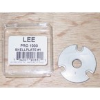 Lee Pro 1000 Progressive Press Shellplate #1 (38 S&W, 38 Special, 357 Magnum)